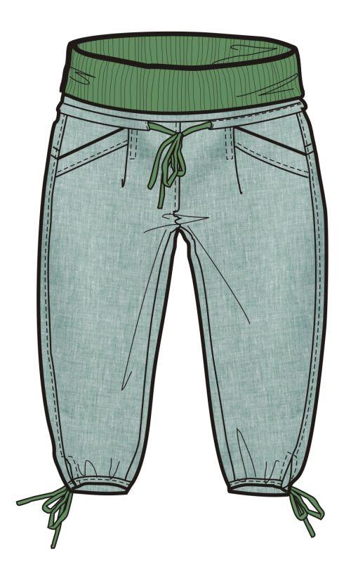 Rejoice 3/4 kalhoty URTICA dámské 03